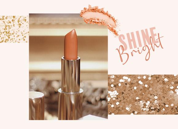 RENDEZ-VOUS BLUSH : adoptez un make-up scintillant pour les fêtes !