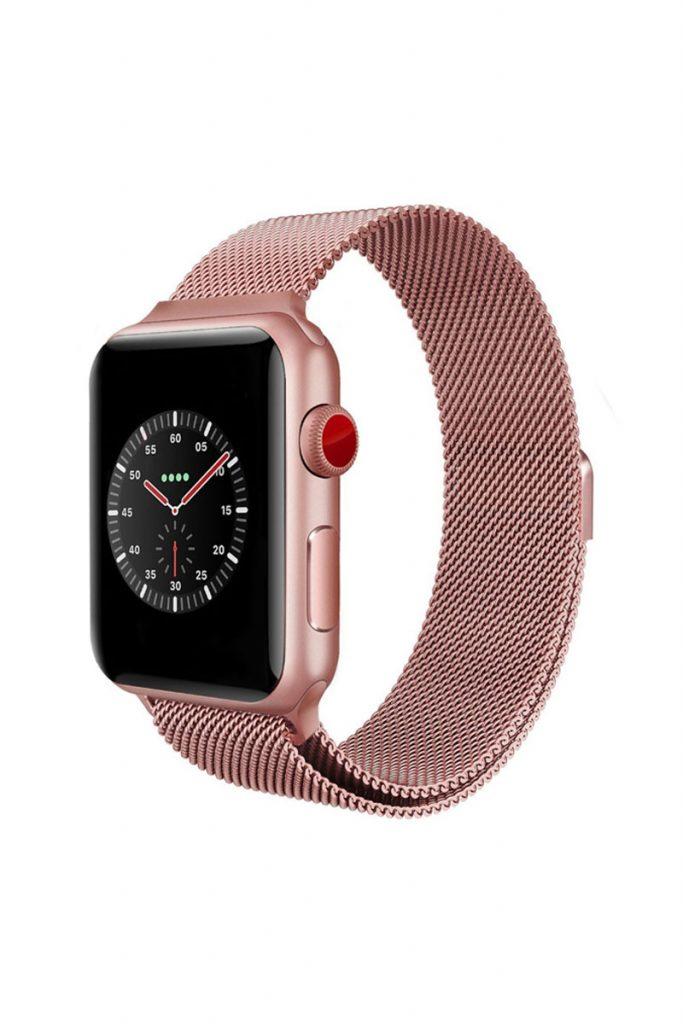 Accessoires iPhone et Samsung bracelet en acier Apple Watch