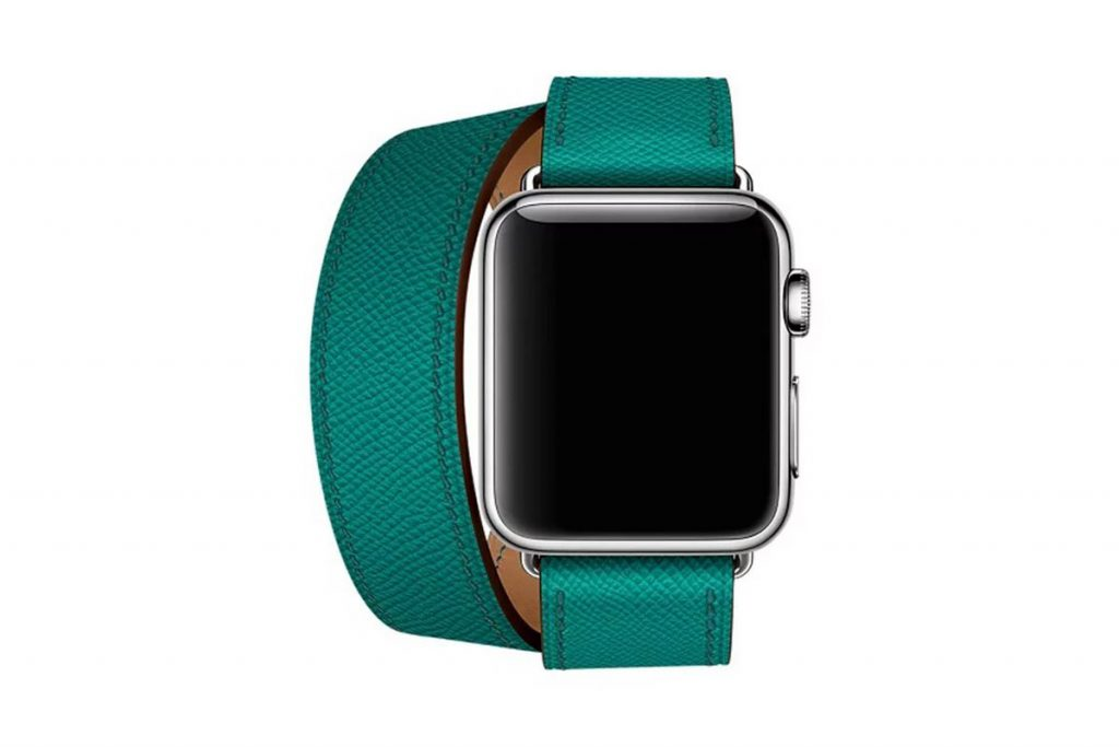 Apple Watch reconditionnées bracelet en cuir Apple Watch