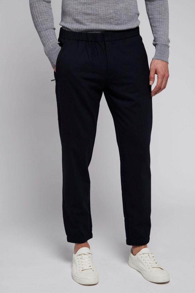 Armani Jeans pantalon en laine
