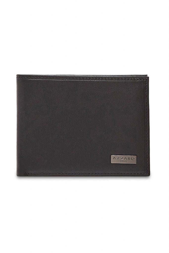 Azzaro portefeuille en cuir