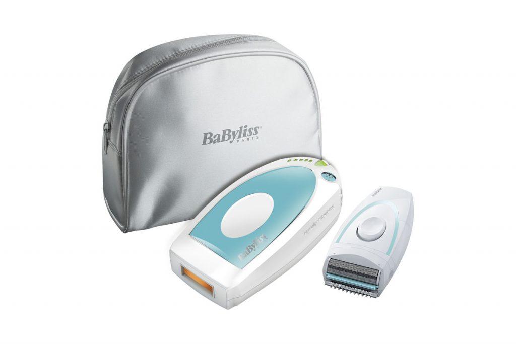 Babyliss kit épilation durable lumière pulsée rasoir précision