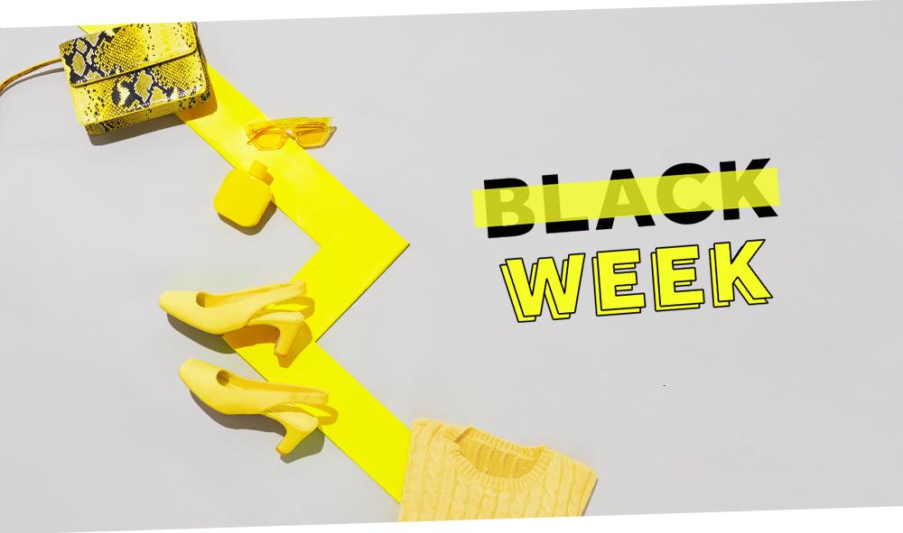 Découvrez la sélection shopping à prix Black Week !
