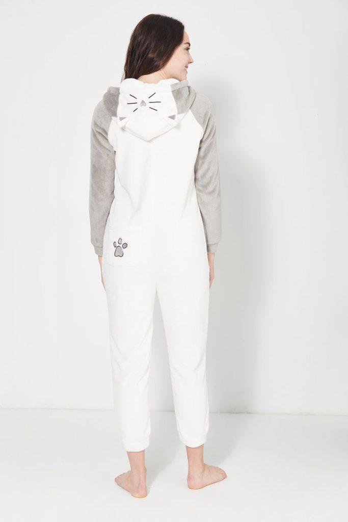 collectionIRL homewear combinaison douce chat