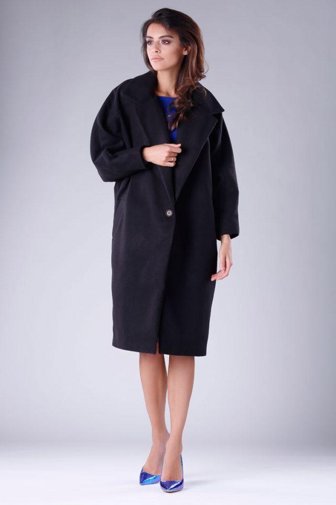 Colour Mist manteau oversize laine et cachemire