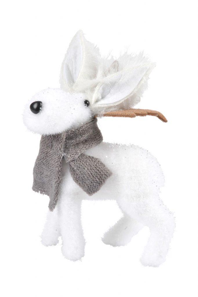 Décoration de Noël peluche Caribou