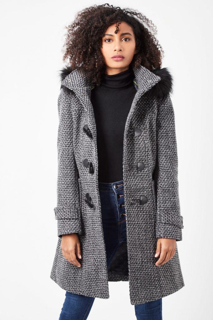 Doudounes & Parkas duffle-coat à capuche