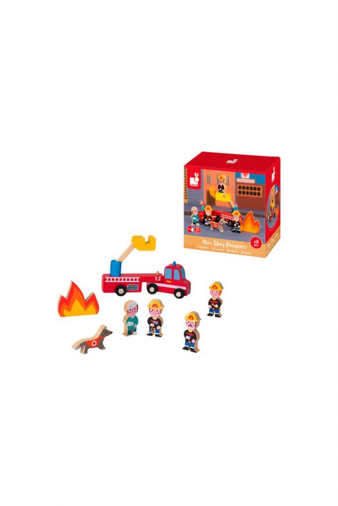 Janod jeu imitation pompiers