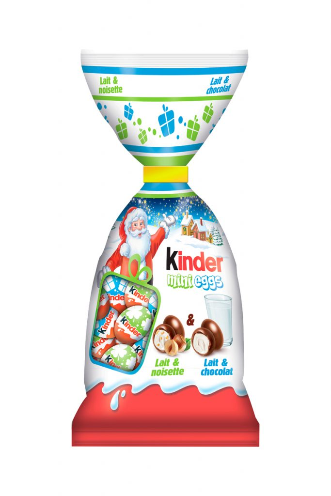 Kinder mini eggs mix