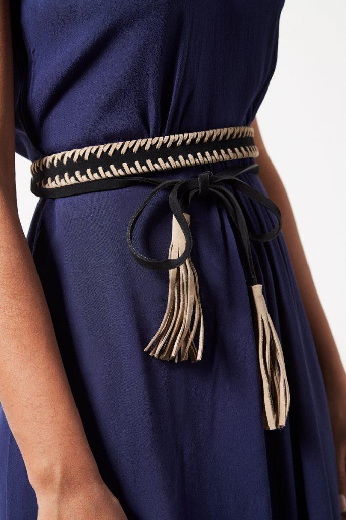 Kookai ceinture en cuir