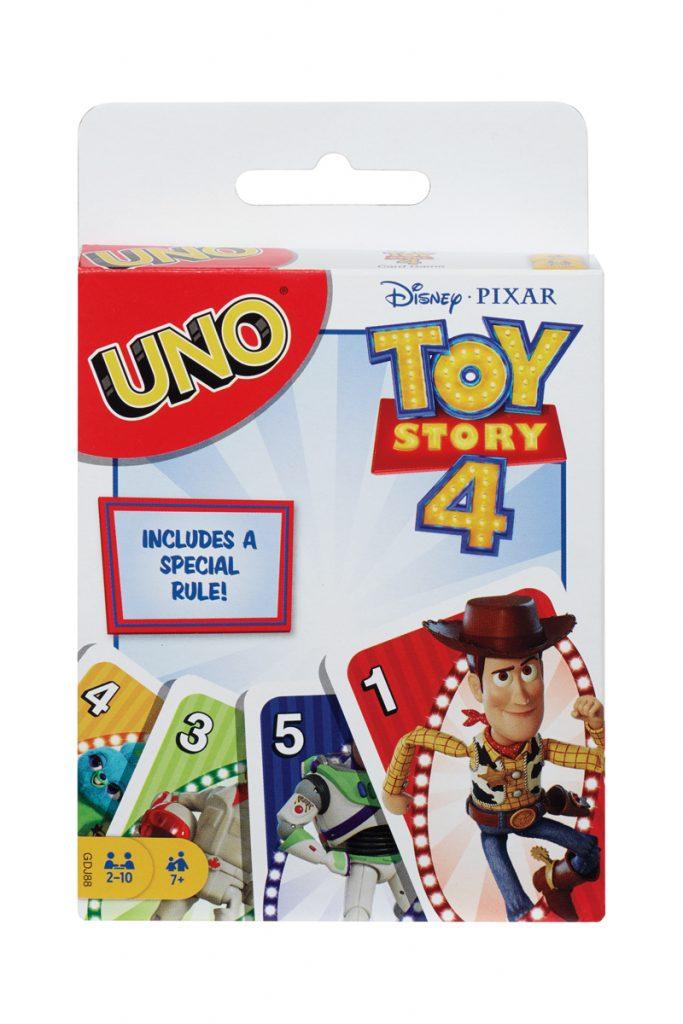 Mattel Uno Toy Story