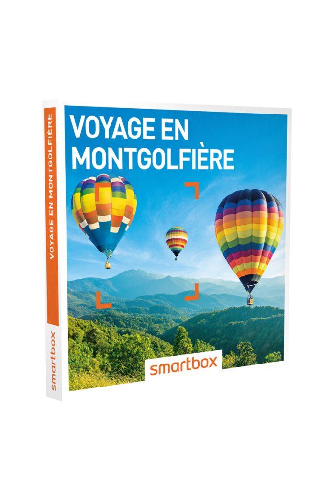 Smartbox coffret cadeau voyage en montgolfière