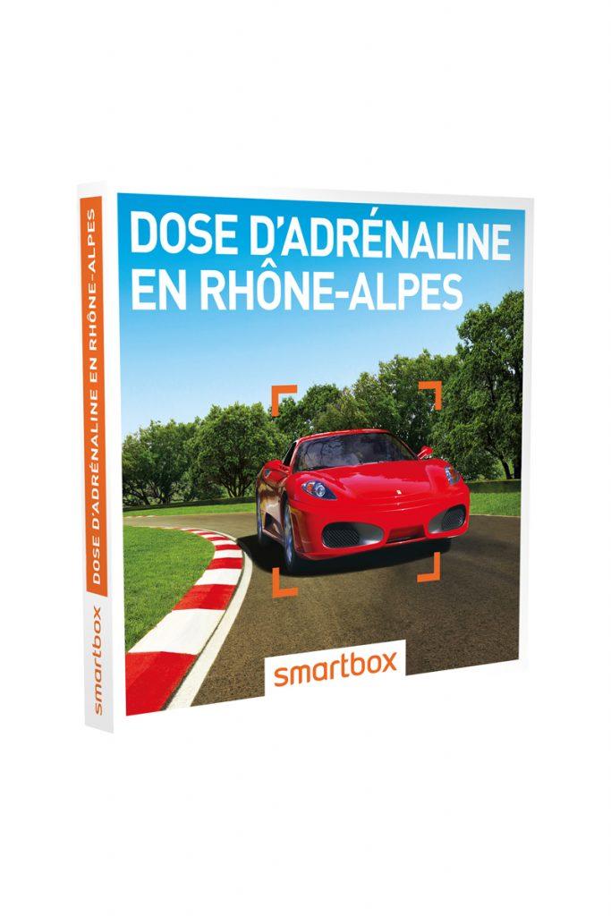 Smartbox coffret cadeau dose adrénaline Rhônes Alpes
