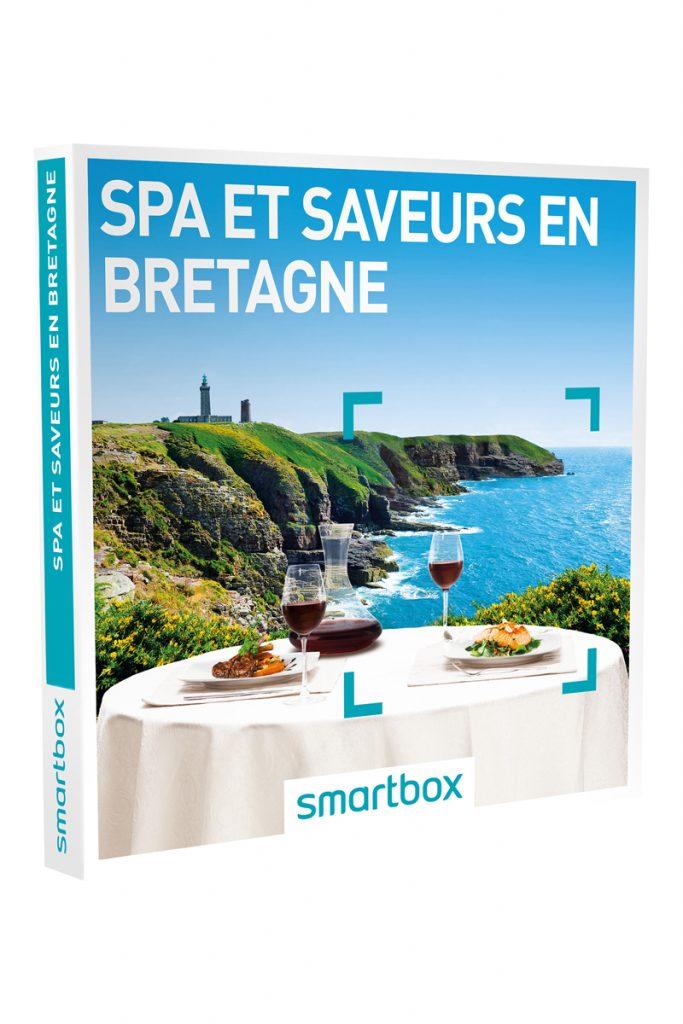 Smartbox coffret cadeau spa et saveurs Bretagne
