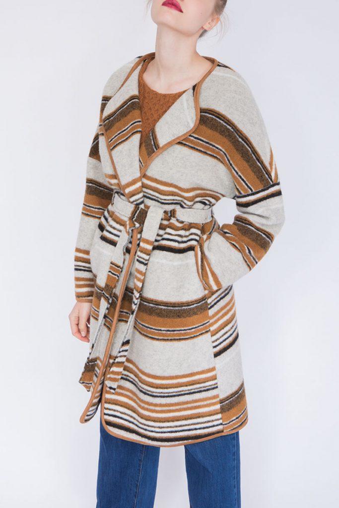 Suncoo manteau en laine