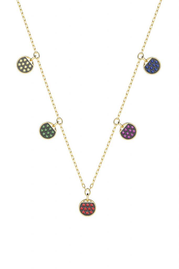 Swarovski collier orné de cristaux