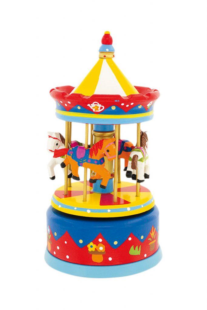 Uysse boite à musique carrousel