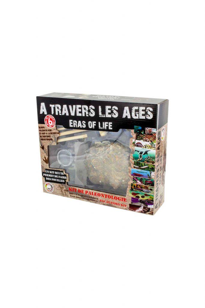 Ulysse kit de paléontologie à travers les âges