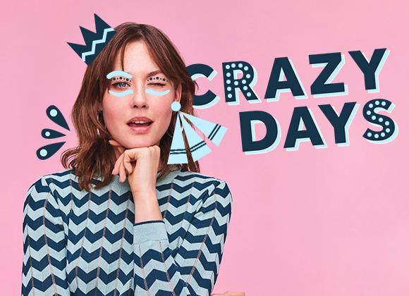 Crazy Days : terminez l'année avec des promotions complètement folles !