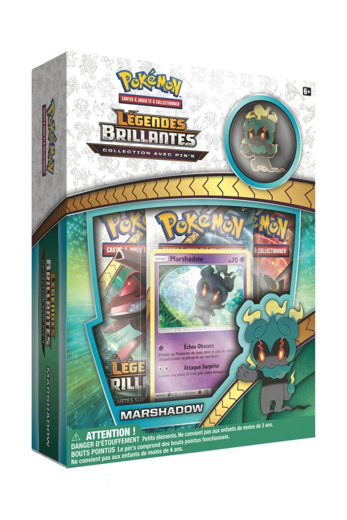 Asmodee coffret Pokémon Légendes Brillantes