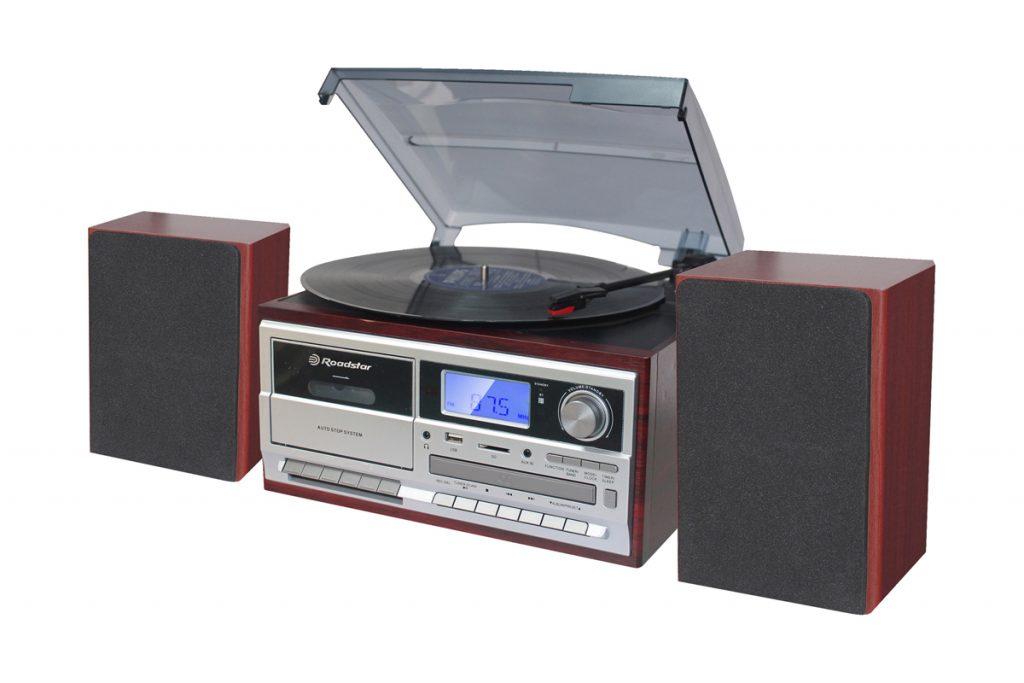 Audio Vintage chaine hi-fi tourne disque enceintes