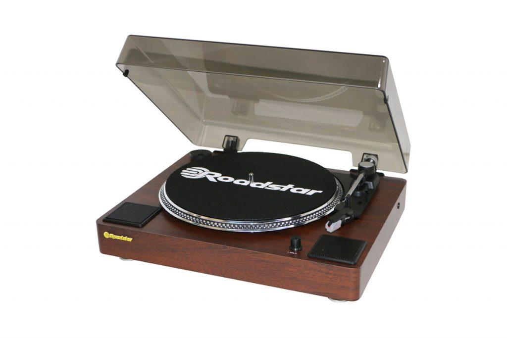 Audio Vintage platine en vinyle bois