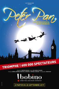 BIlleterie spectacle Peter Pan