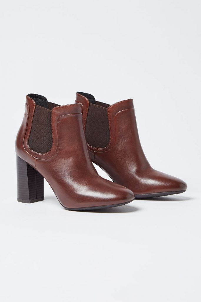 Geox bottines en cuir
