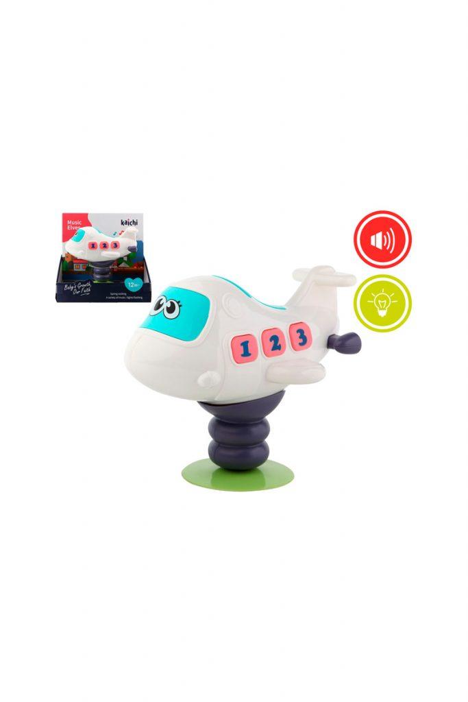 La petite boutique jouet tapis avion interactif
