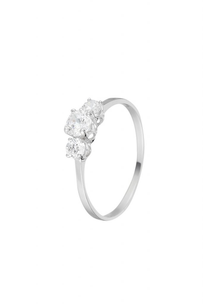 L'Or by Diamanta bague 3 pierres