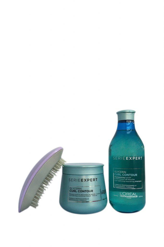 L'Oréal Professionnel coffret glycerin curl contour
