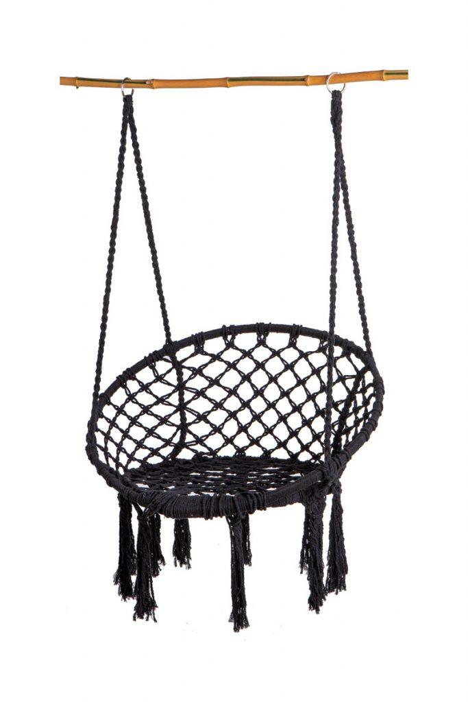 Alizéa chaise suspendue macramé