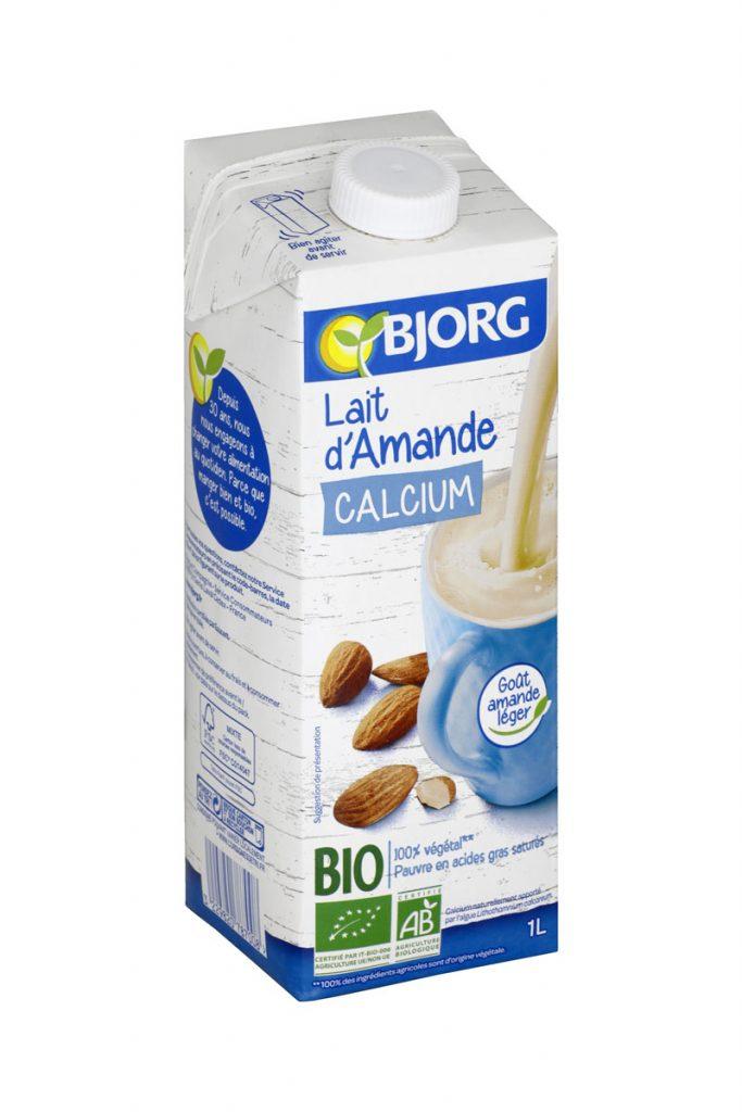 Bjorg lait d'amande calcium bio