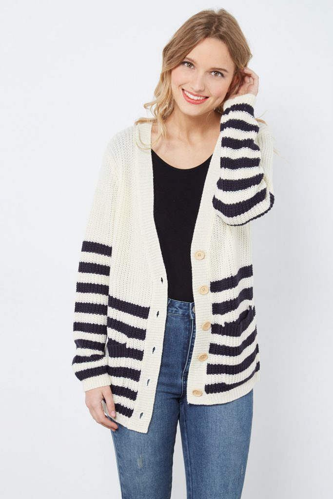 collectionIRL cardigan grosse maille