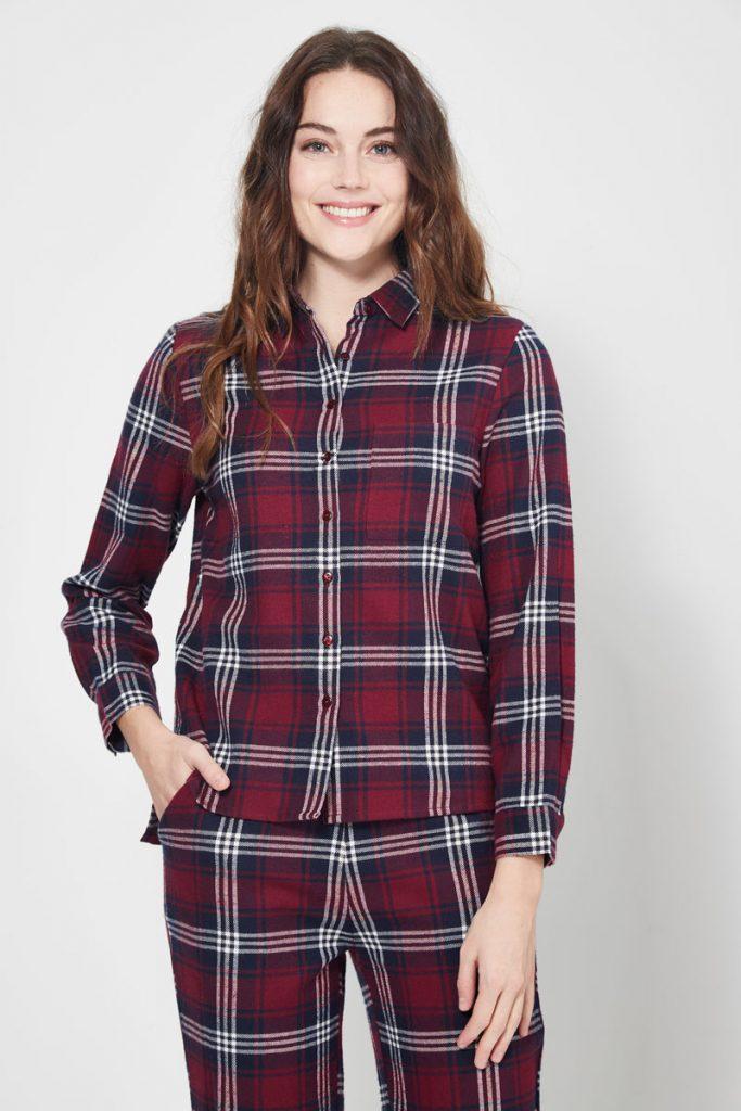 collectionIRL chemise de pyjama à carreaux