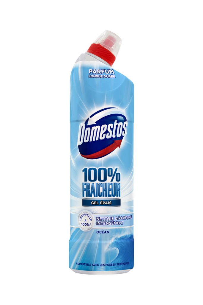 Domestos 6 gels nettoyants WC