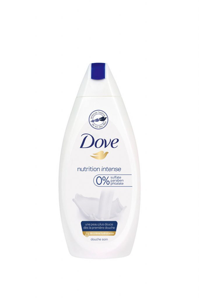 Dove gels douches