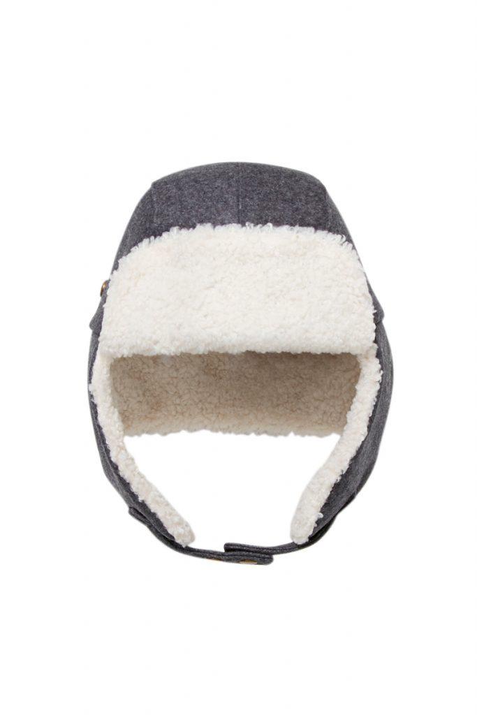 Jacadi bonnet aviateur en laine