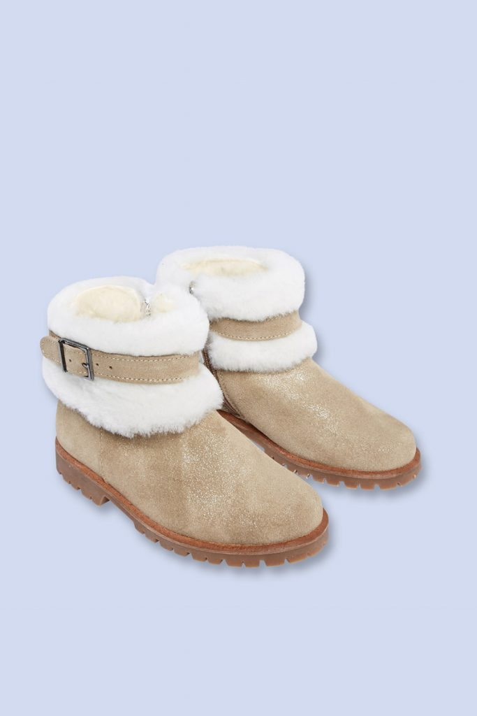 Jacadi boots fourrées en laine