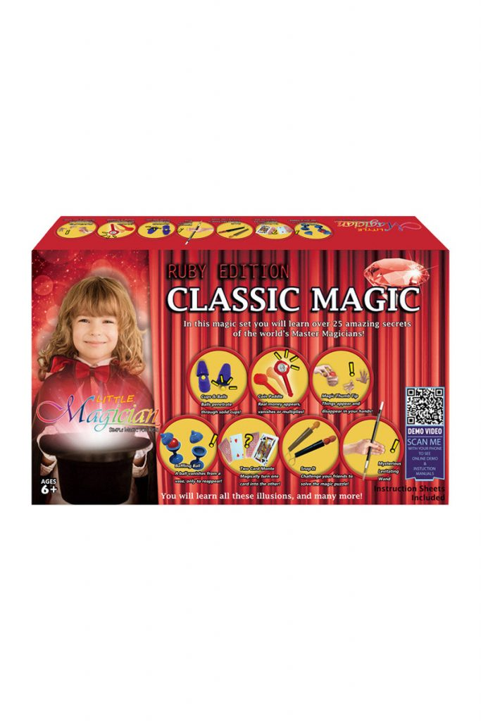 Jimmy's Toys coffret de 25 tours de magie
