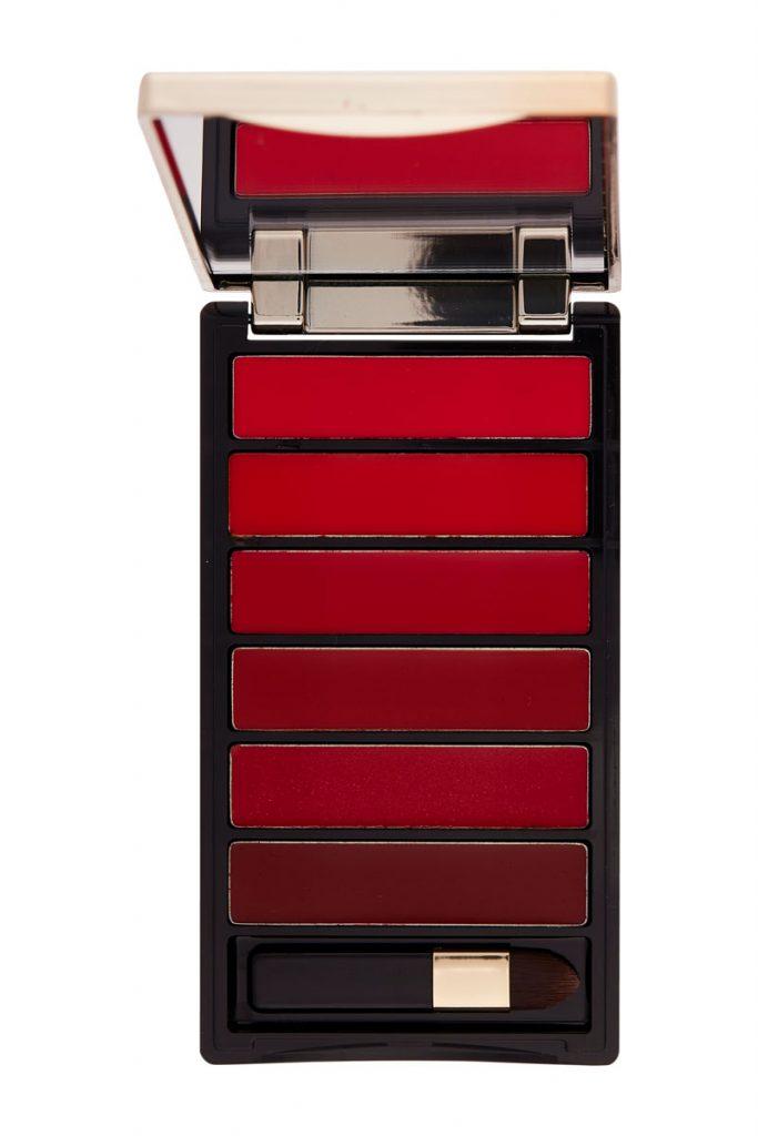 L'Oréal Paris palette de 6 rouges à lèvres