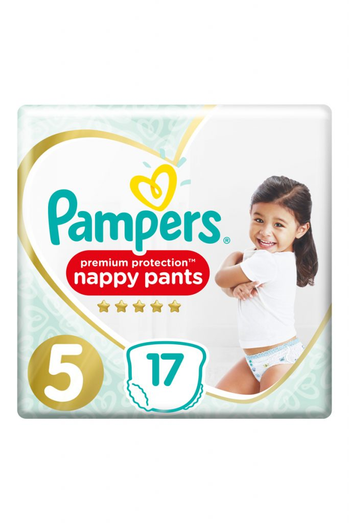 Pampers 68 couches culottes