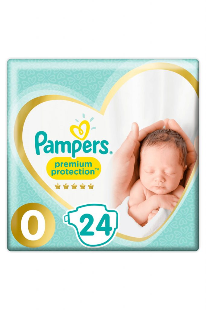 Pampers 72 couches premium protection