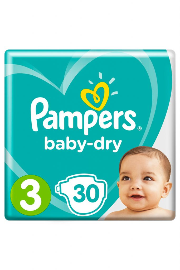 Pampers couches Baby Dry