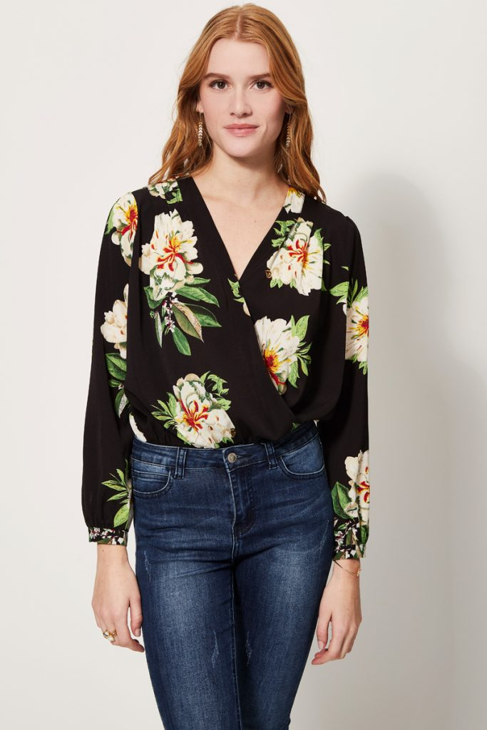 collectionIRL blouse fleurs