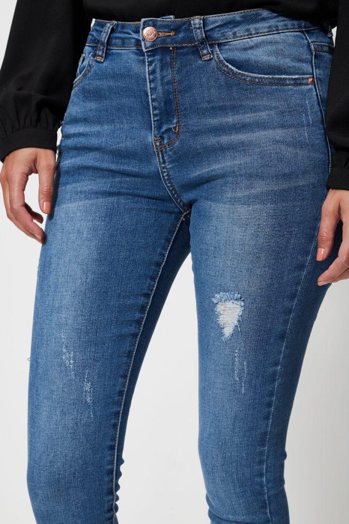 collectionIRL jean slim effet usé