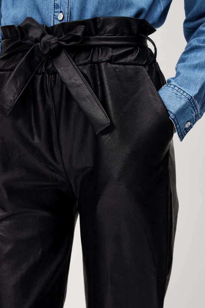collectionIRL pantalon effet cuir