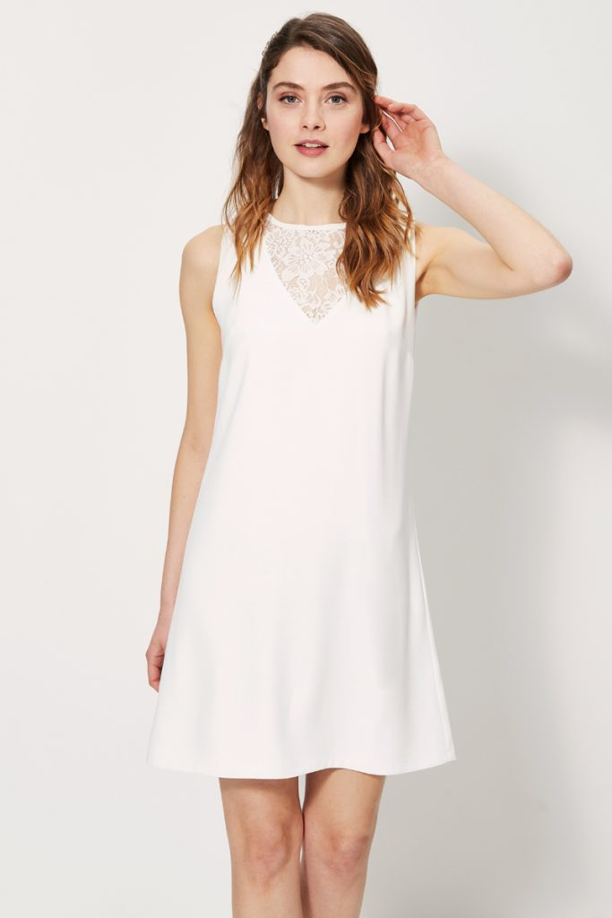 collectionIRL robe droite sans manches