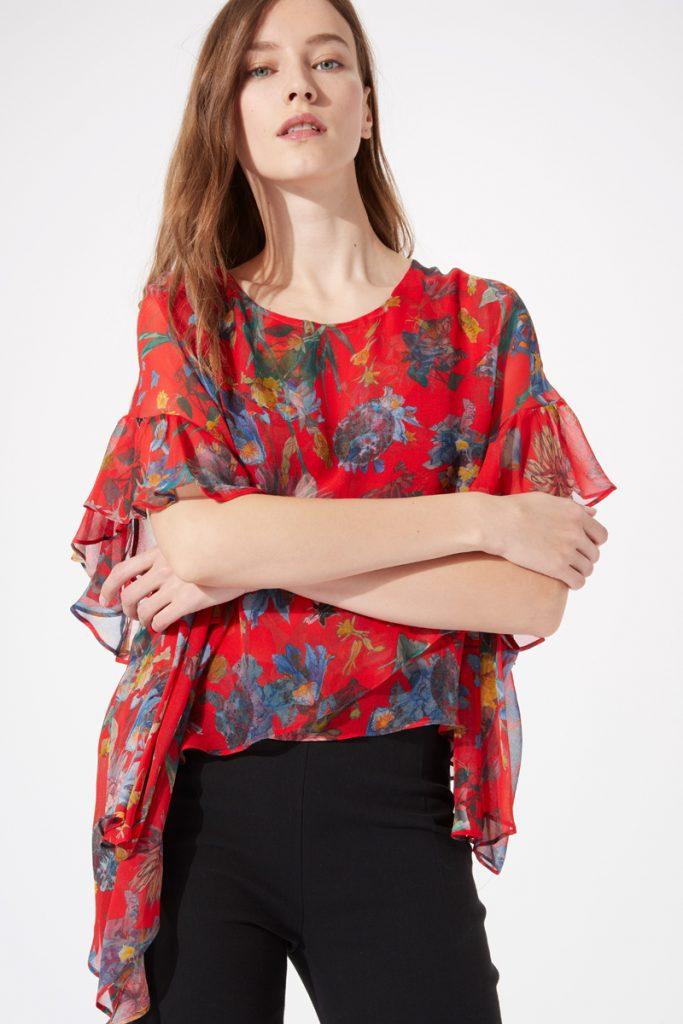Iro blouse en soie