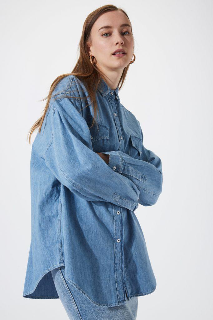 Iro chemise en jean